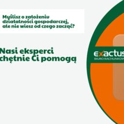 Rozpoczęcie działalności Exactus pomoże